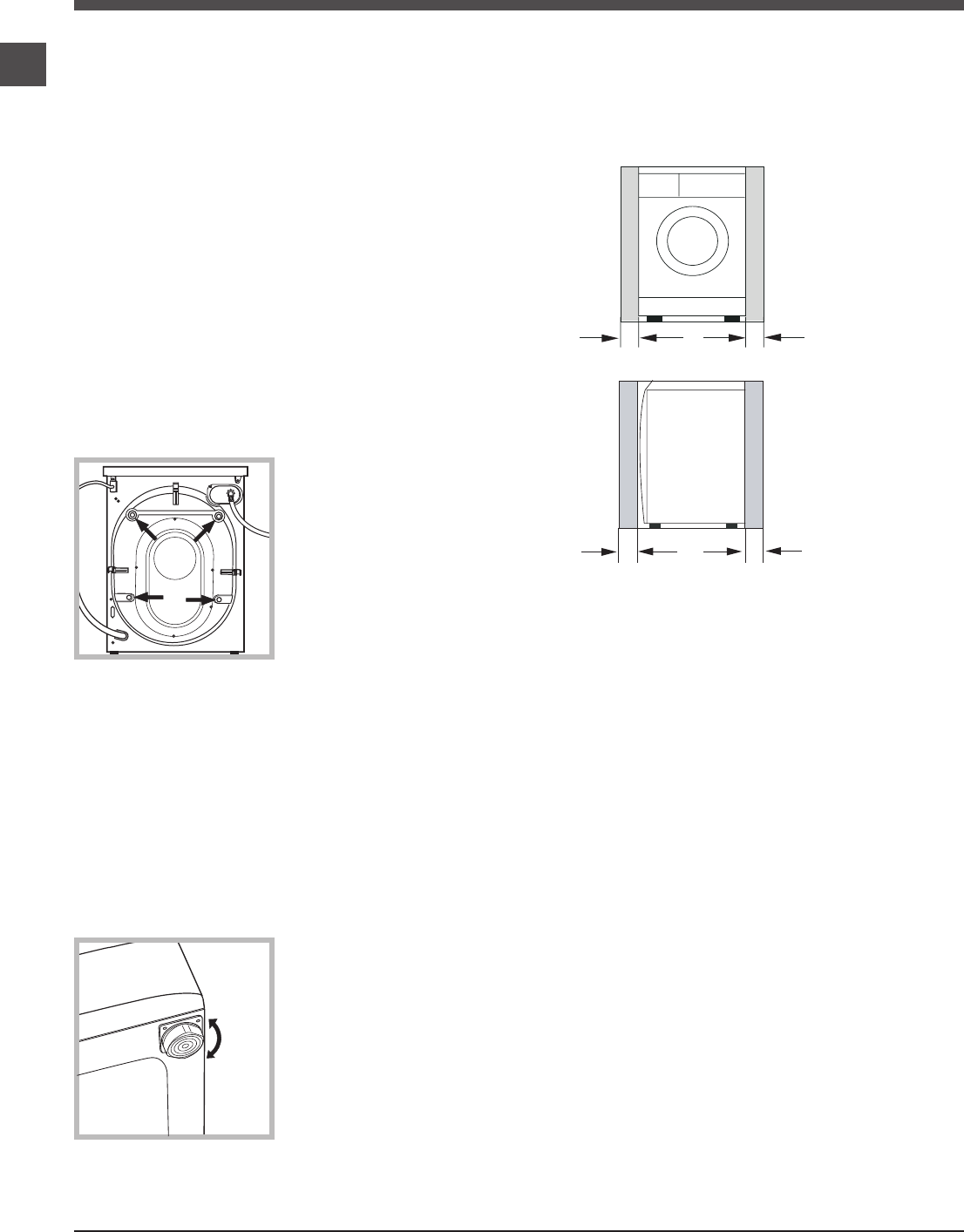 Page 4 of Ariston Washer ARWXF129W User Guide