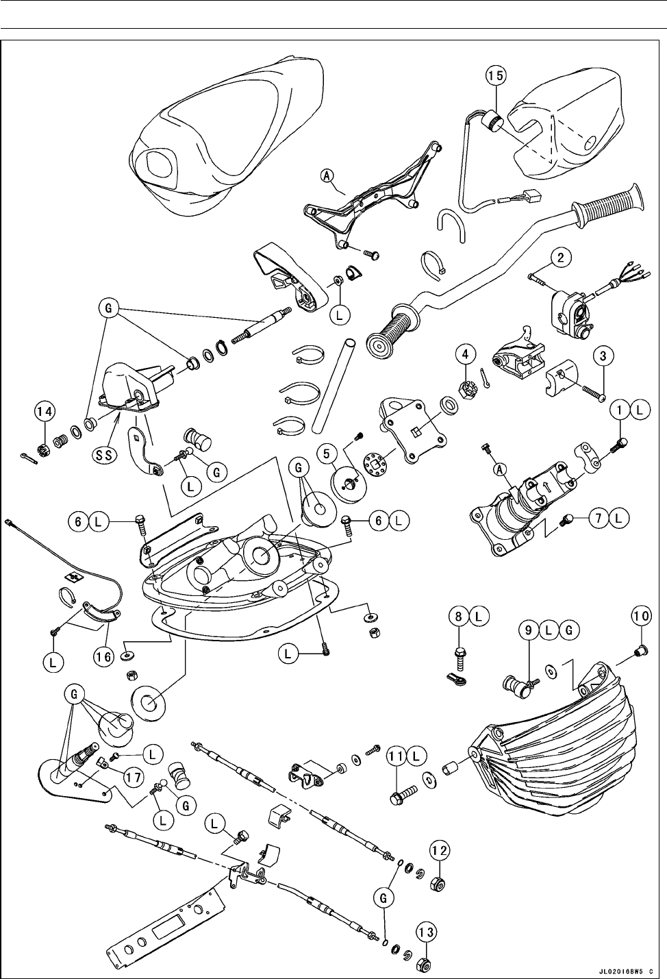 Page 288 of Kawasaki Jet Ski STX-15F User Guide