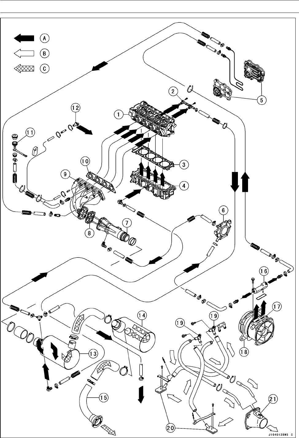 Page 254 of Kawasaki Jet Ski STX-15F User Guide