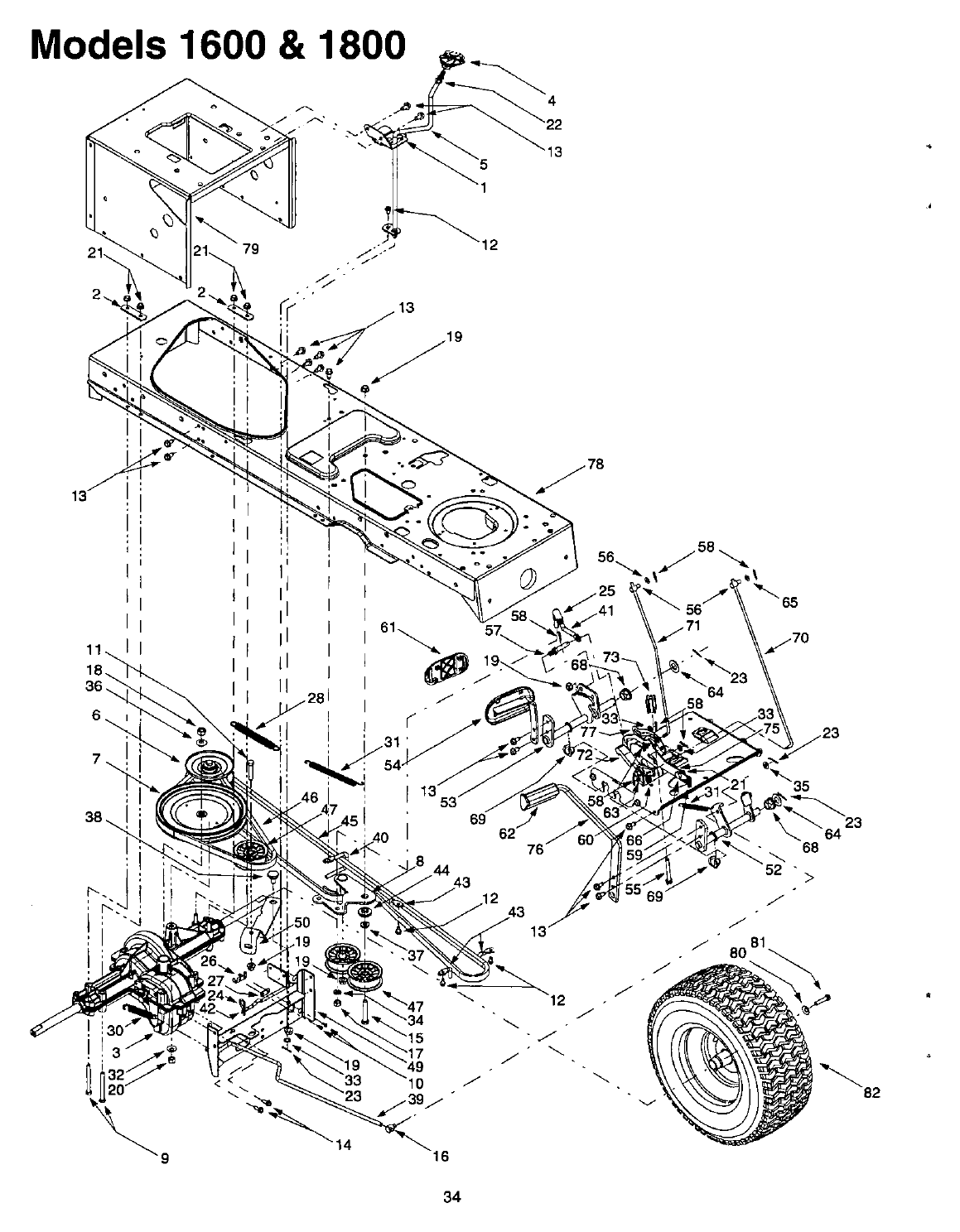 Page 34 of Cub Cadet Lawn Mower 1800 User Guide