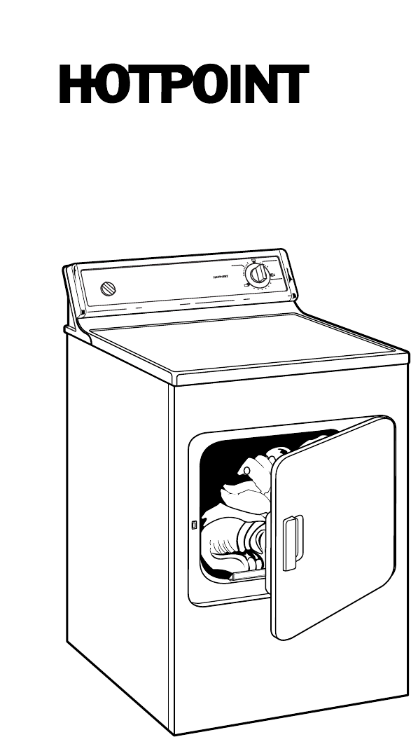 Page 3 of Hotpoint Clothes Dryer NVL333EYWW User Guide