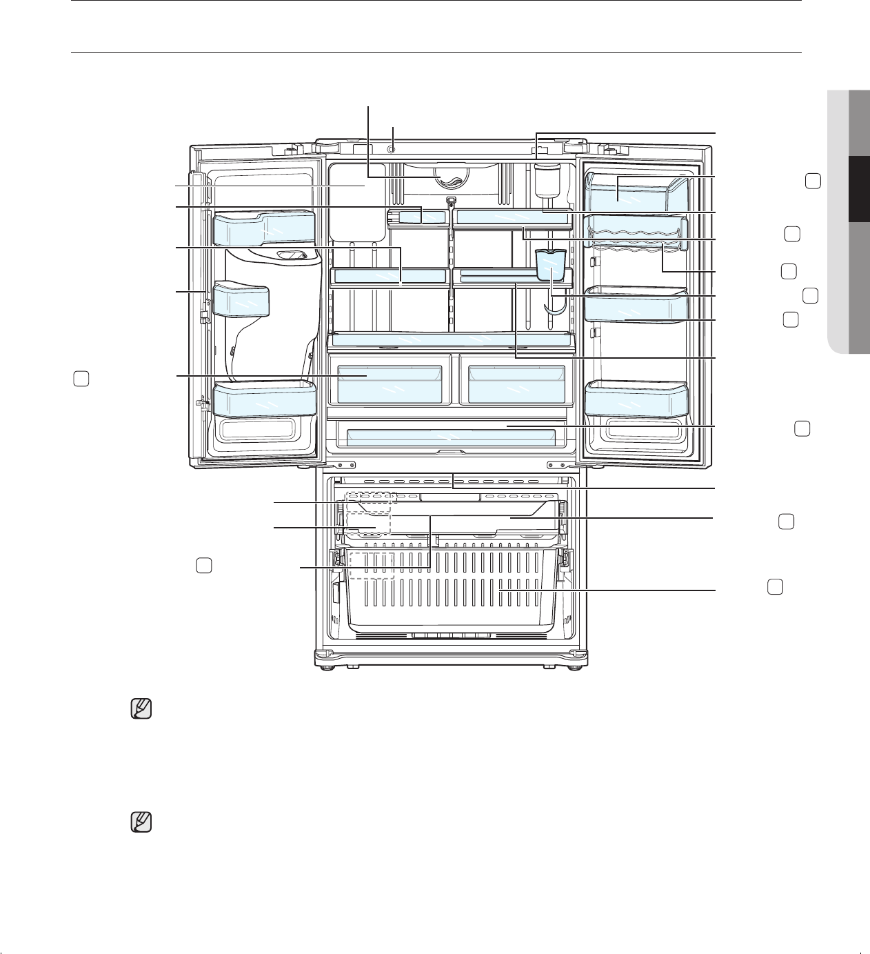 Page 31 of Samsung Refrigerator RFG237AA User Guide