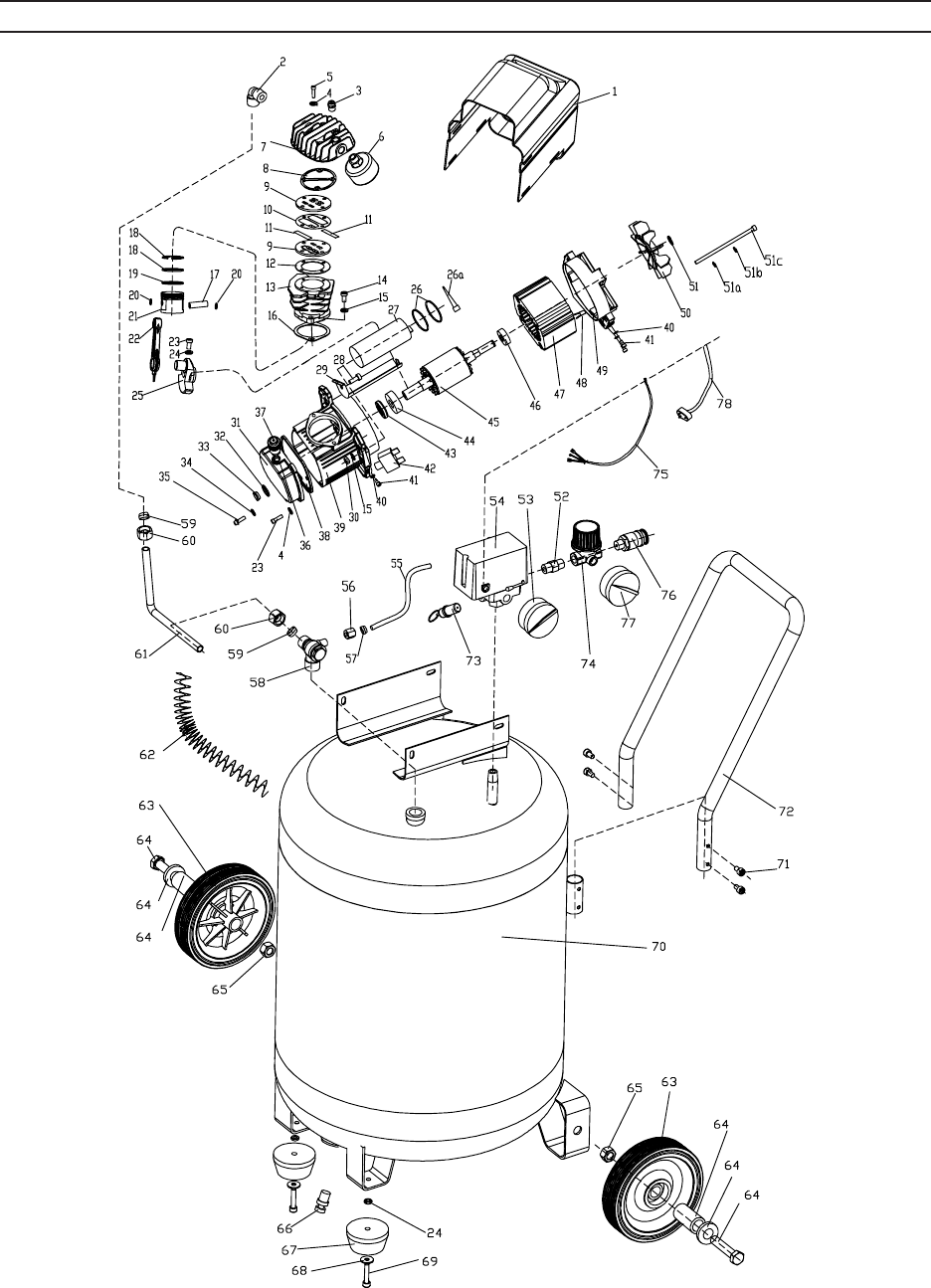 Page 19 of Harbor Freight Tools Air Compressor 67847 User