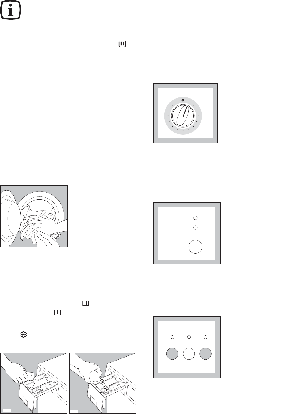 Page 8 of Electrolux Washer/Dryer AW 1260 S User Guide