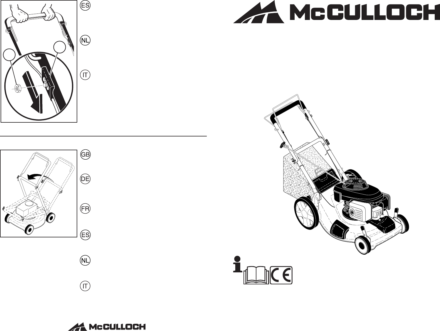 McCulloch Lawn Mower EDITION 1XXL User Guide