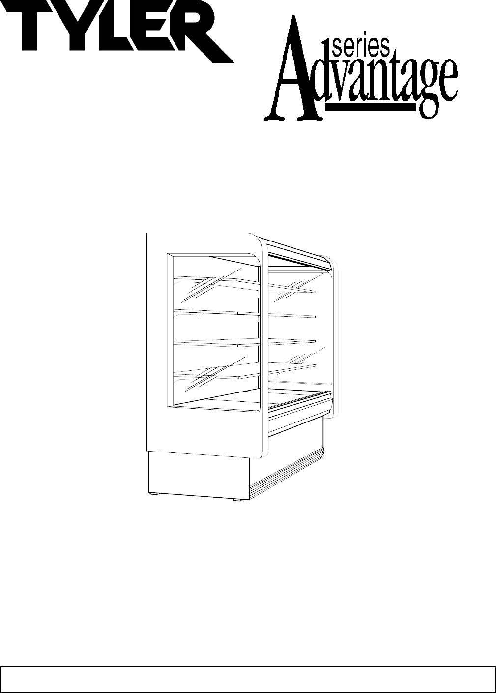 Tyler Refrigeration Refrigerator N5DL User Guide
