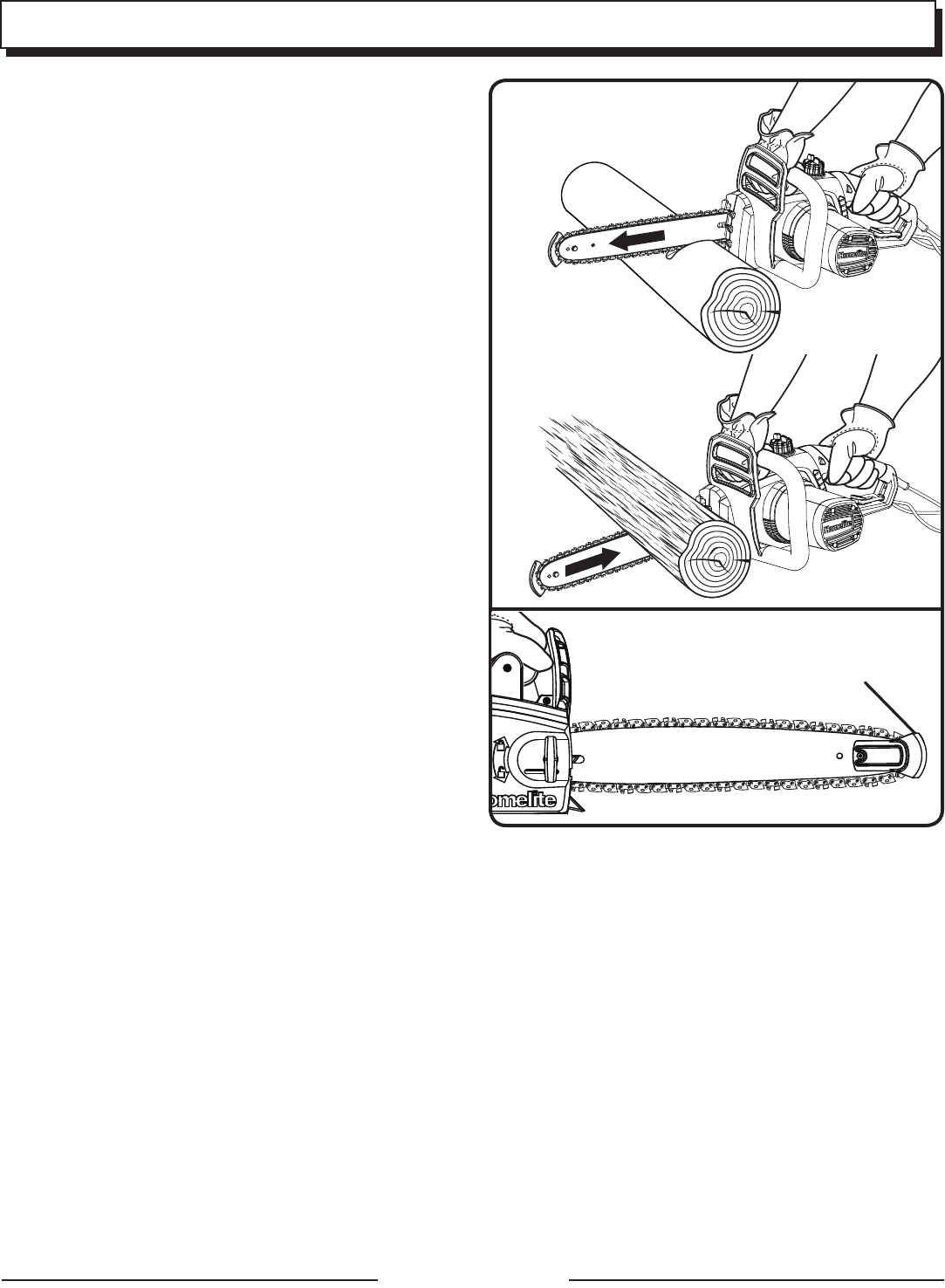Page 6 of Homelite Chainsaw UT43122 User Guide