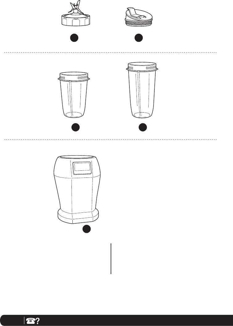 Page 10 of Ninja Kitchen Products Blender BL450 User Guide