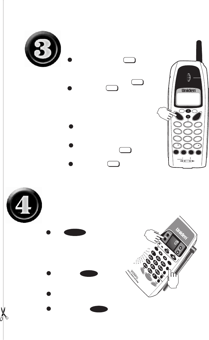 Page 5 of Uniden Cordless Telephone 2165 User Guide