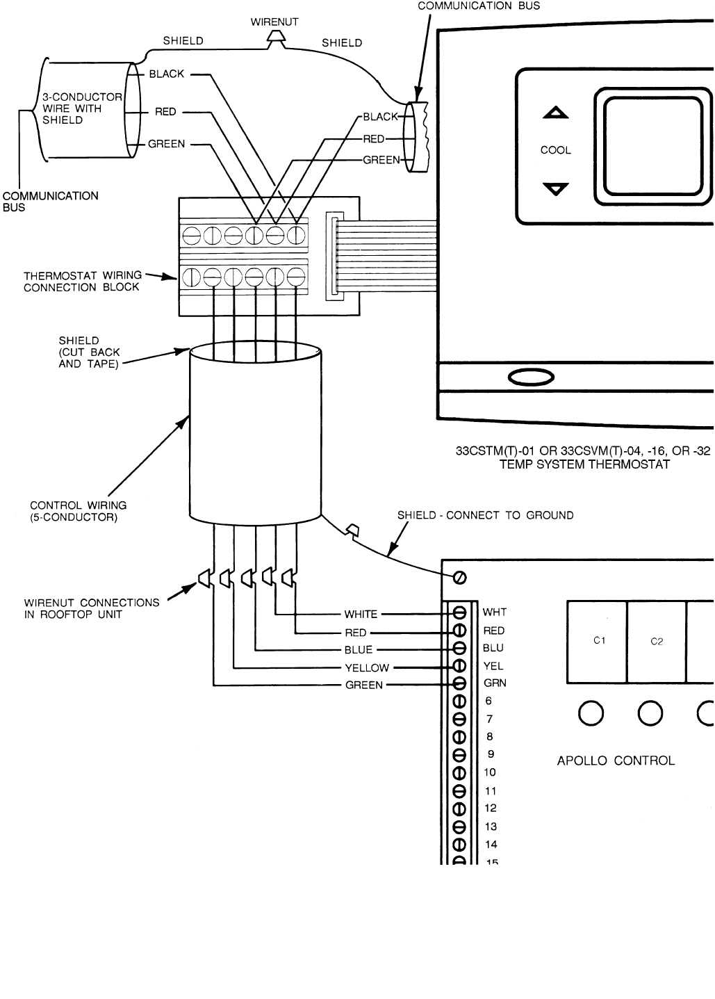 Page 4 of Carrier Thermostat TM016-028 User Guide