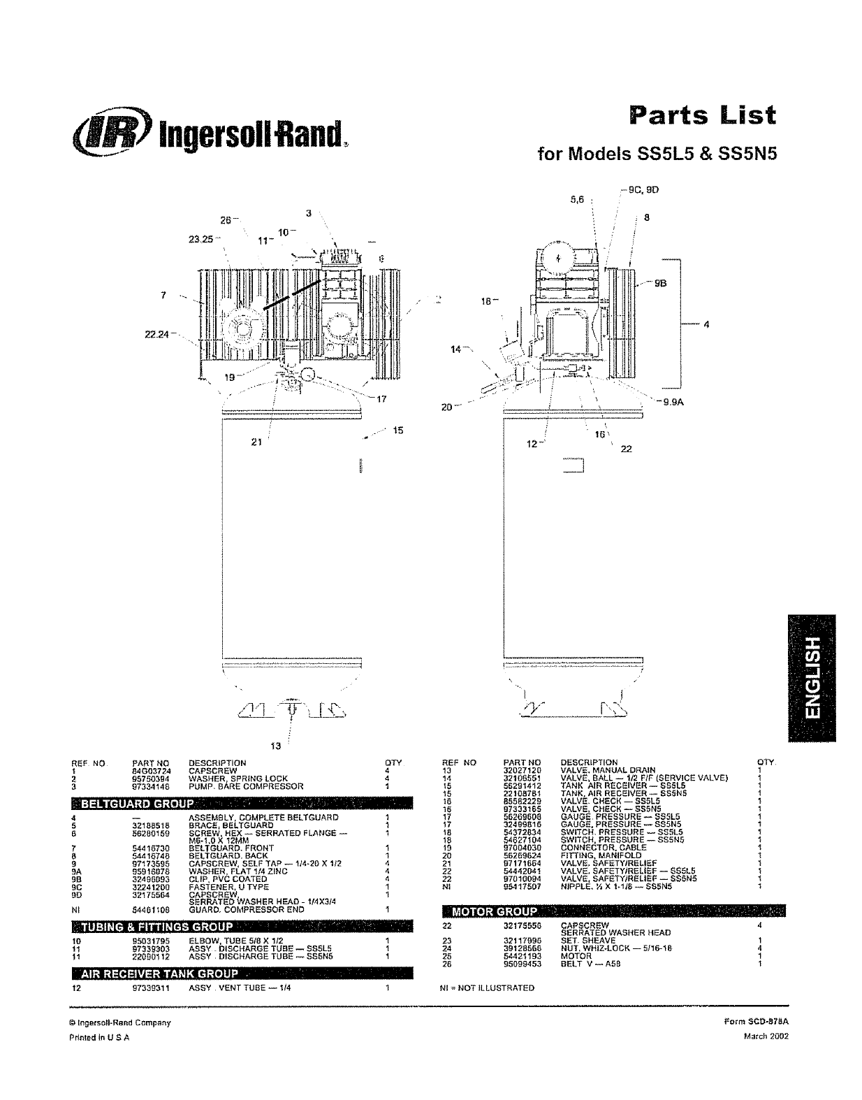Wiring Diagram: 30 Ingersoll Rand Ss3 Parts Diagram