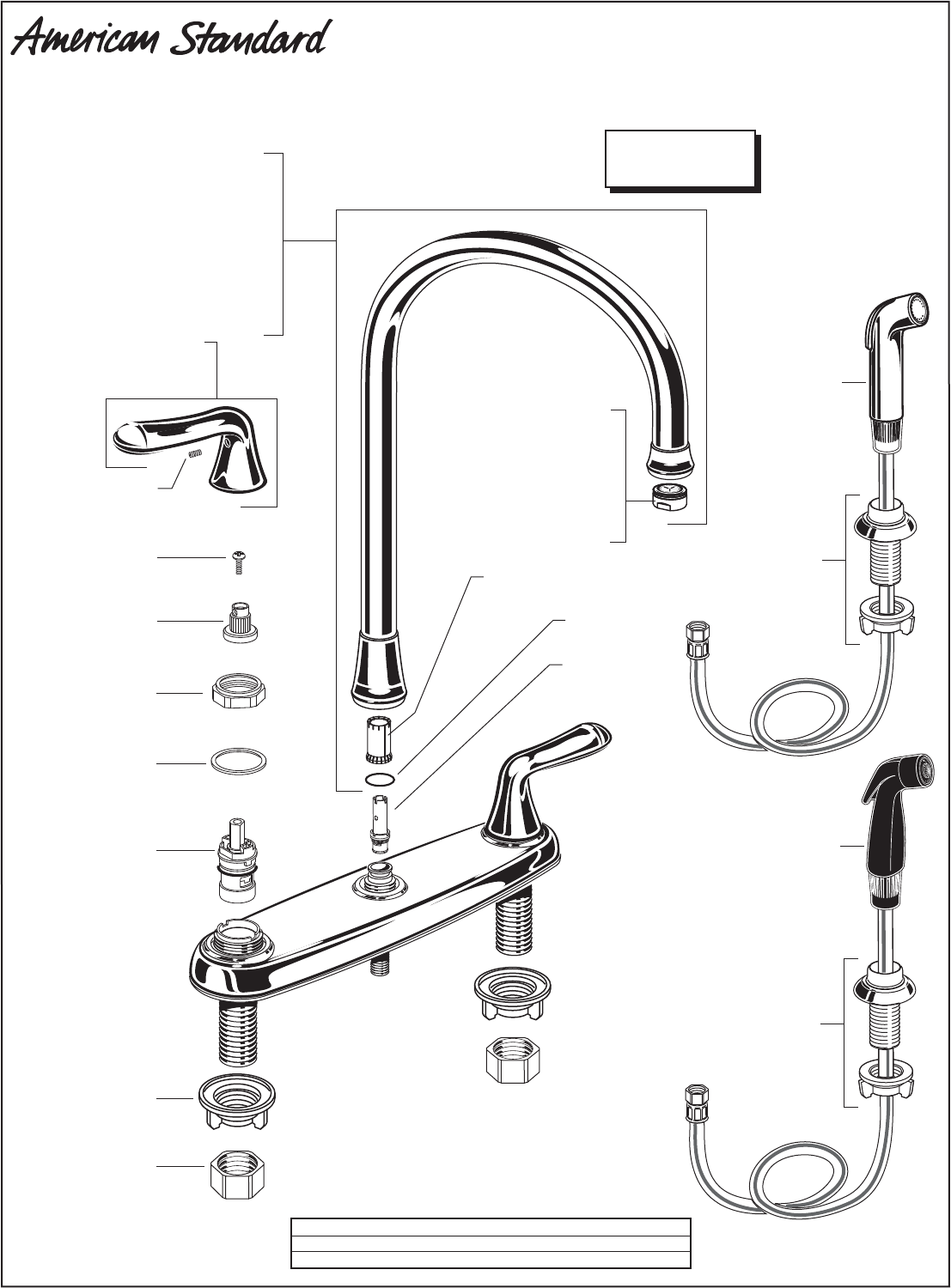 American Standard Outdoor Kitchen Island Kitchen Faucet