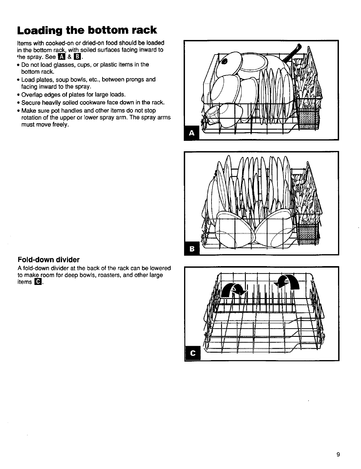 Page 10 of Kenmore Dishwasher 15831 User Guide