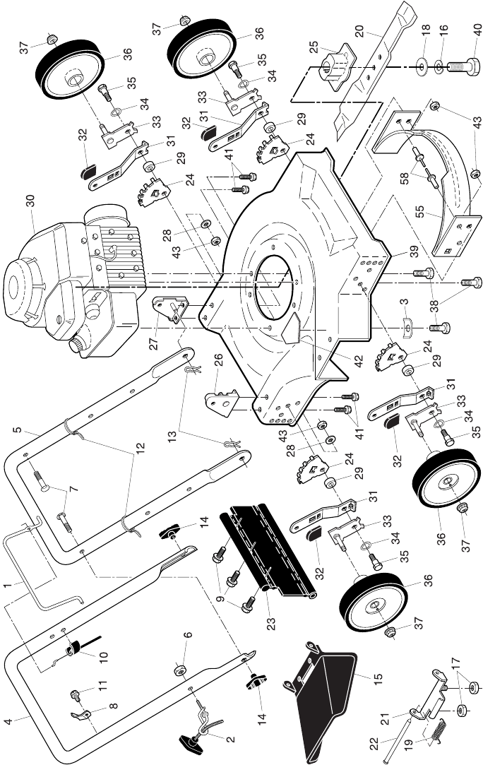 Page 2 of Weed Eater Lawn Mower Accessory 961140007 User