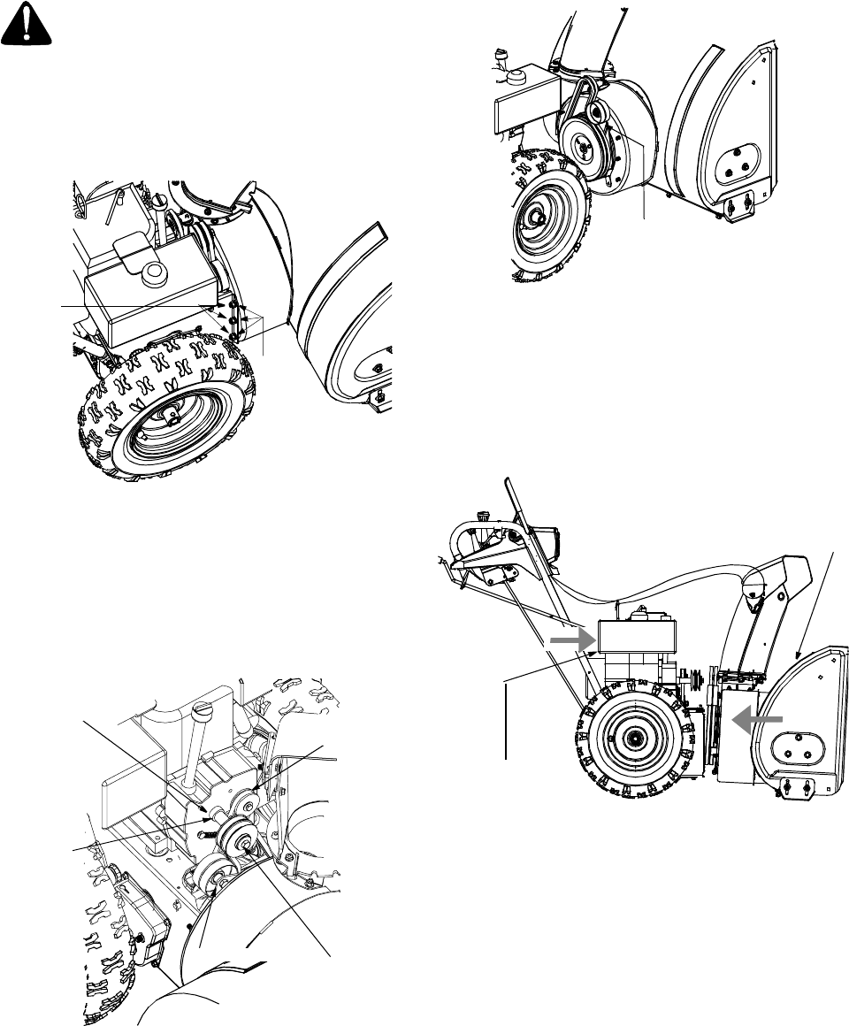 Page 22 of Sears Snow Blower 247.88853 User Guide
