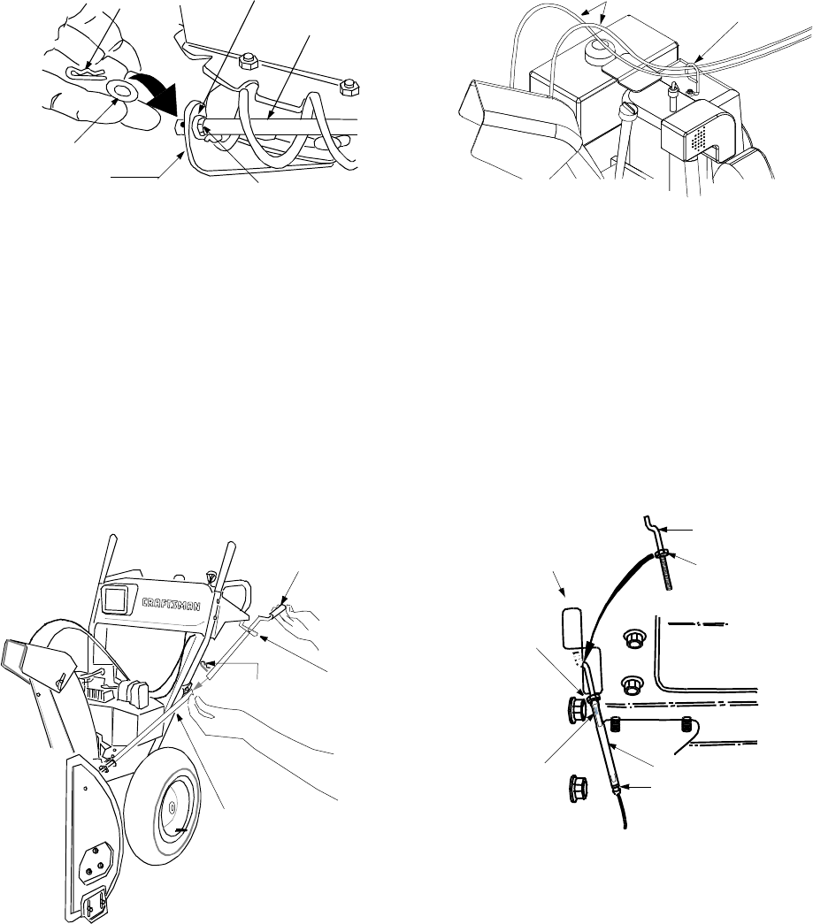 Page 8 of Sears Snow Blower 247.88853 User Guide