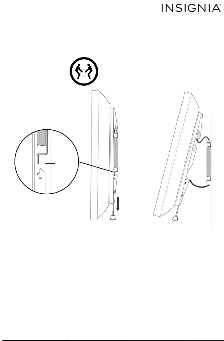 Page 13 of Insignia TV Mount NS-TVMFP23 User Guide