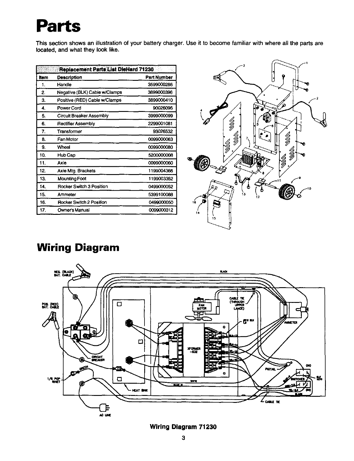 Page 4 of Sears Automobile Battery Charger 200.7123 User