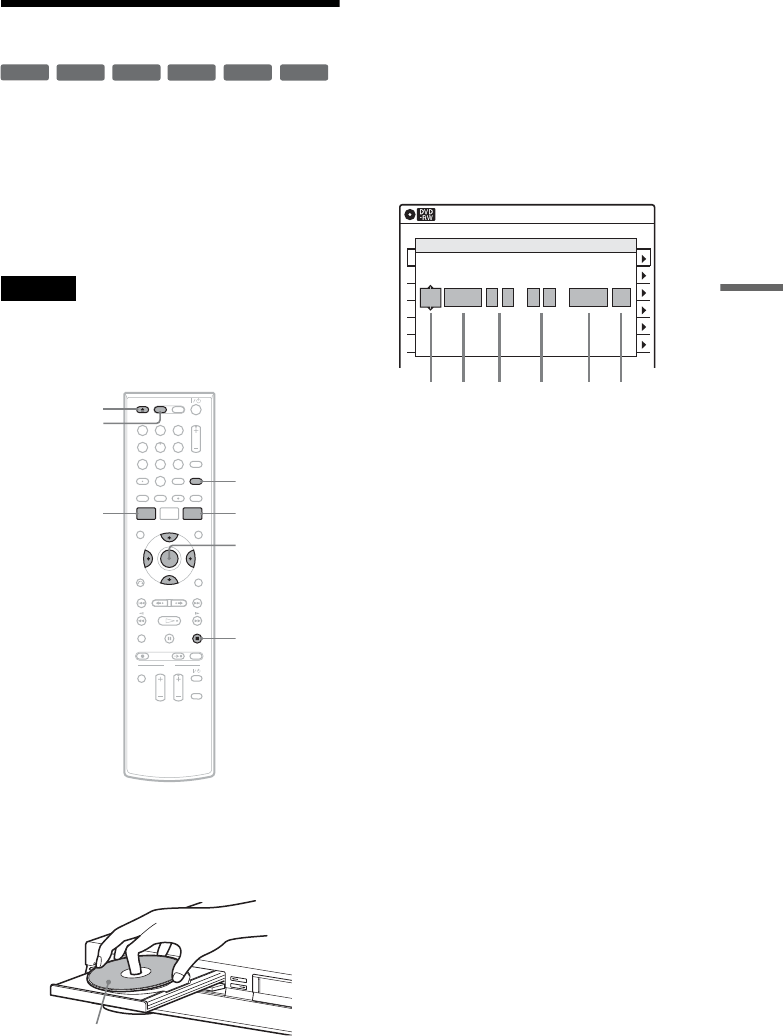 Page 51 of Sony DVD VCR Combo RDR-VXD655 User Guide