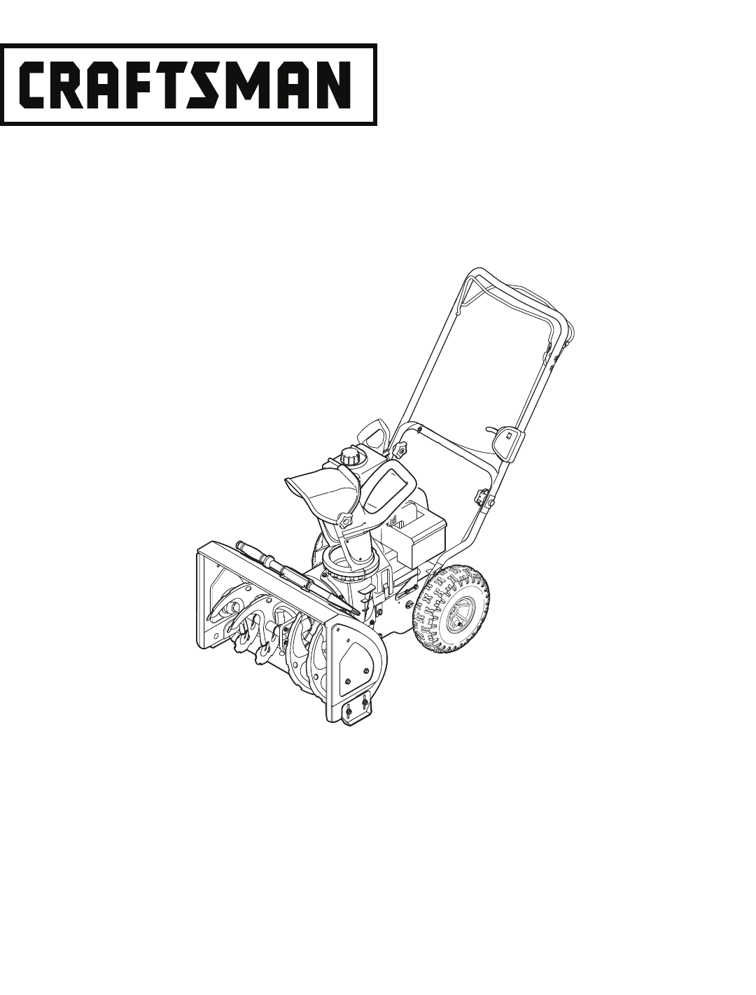 Craftsman Snow Blower 247.88455.1 User Guide