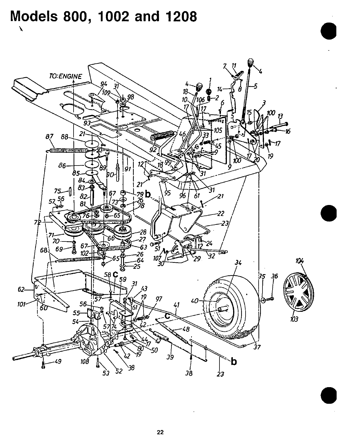 Page 22 of Bolens Lawn Mower 1002 User Guide