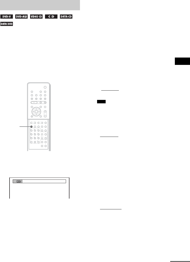 Page 71 of Sony Home Theater System DAV X1G User Guide