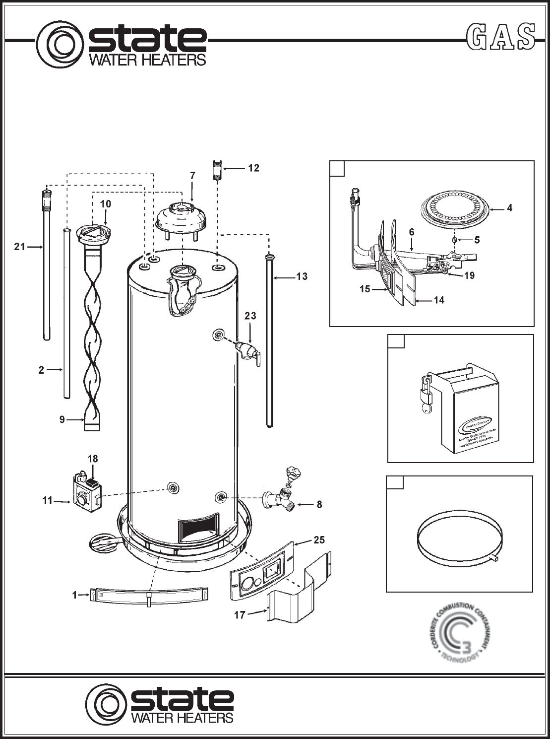 State Industries Water Heater GS6-50 User Guide