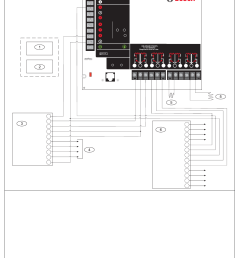 d9412gv3 d7412gv3 operation and installation guide appendix a system wiring diagrams issue a  [ 1036 x 1427 Pixel ]
