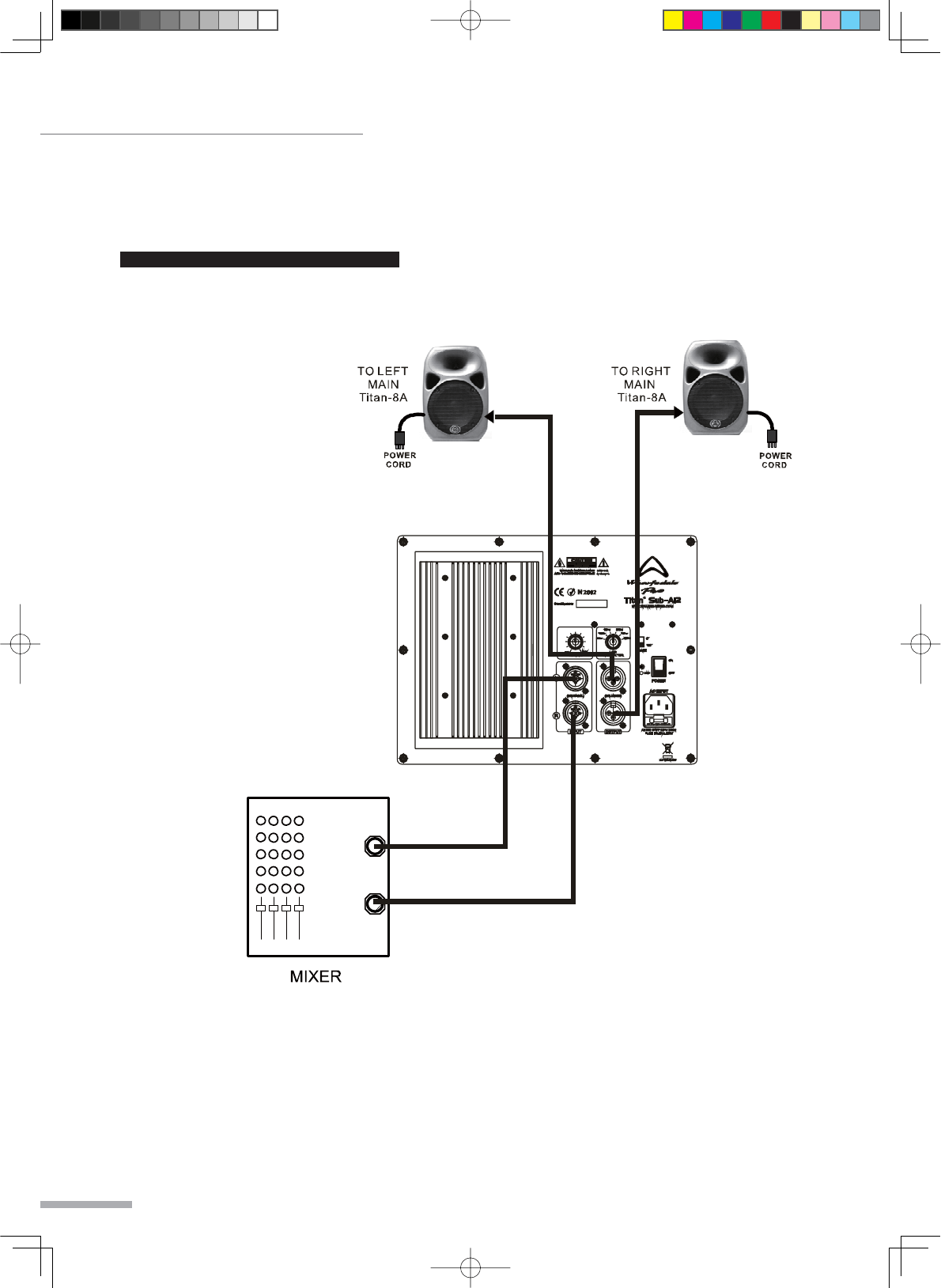 Page 18 of Wharfedale Speaker System 15 PASSIVE User Guide