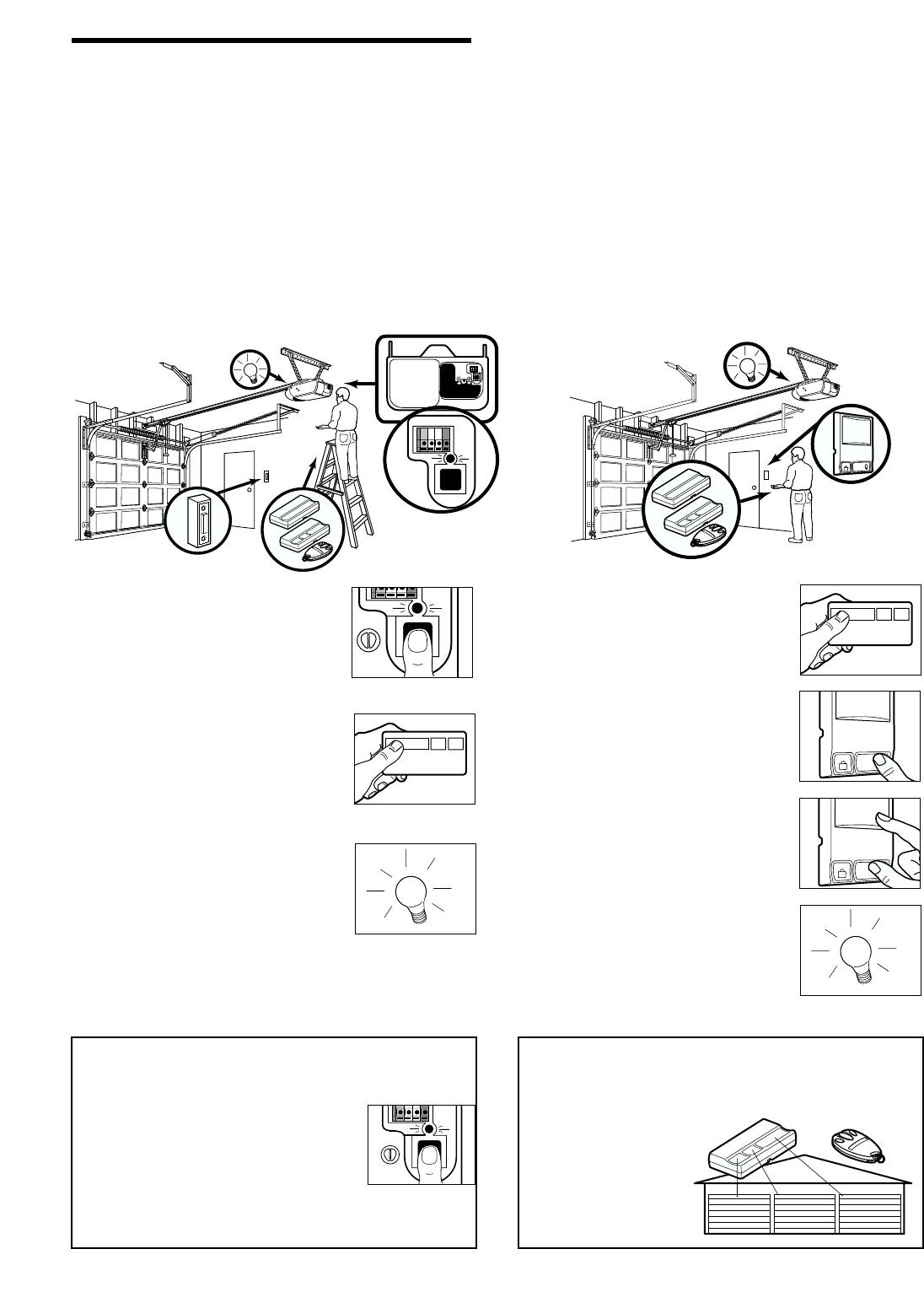 Page 31 of Chamberlain Garage Door Opener 2110 1/3 HP User