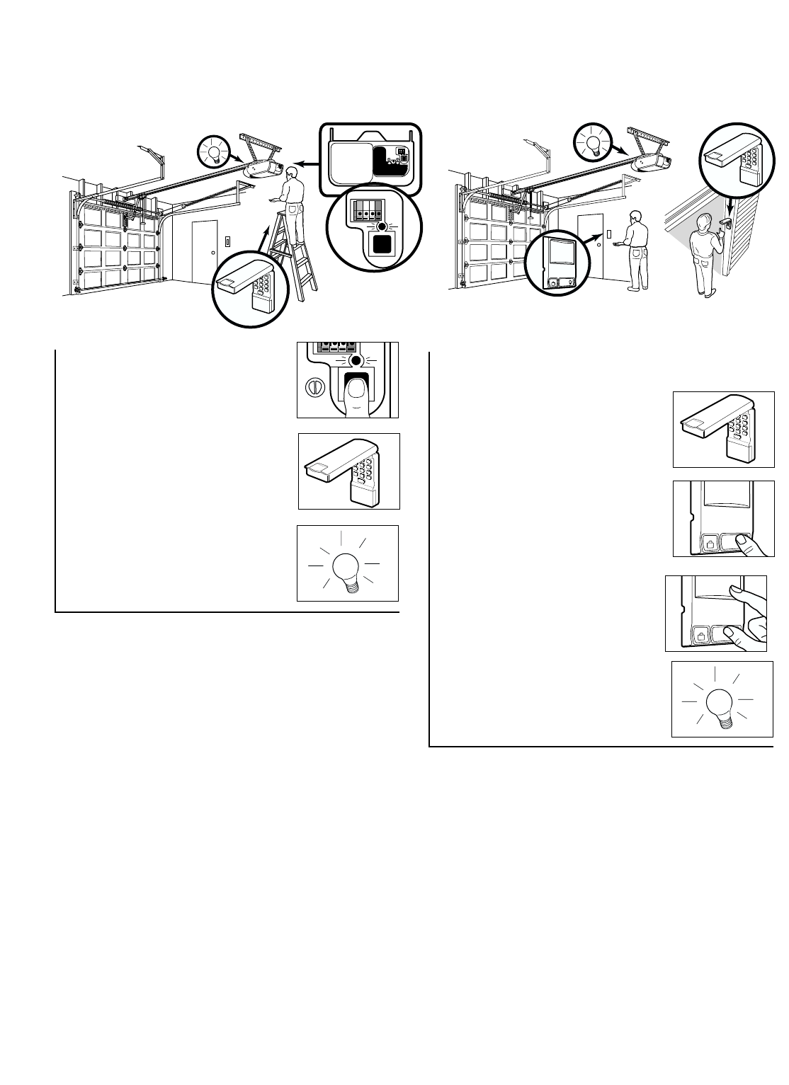 Page 32 of Chamberlain Garage Door Opener 2110 1/3 HP User
