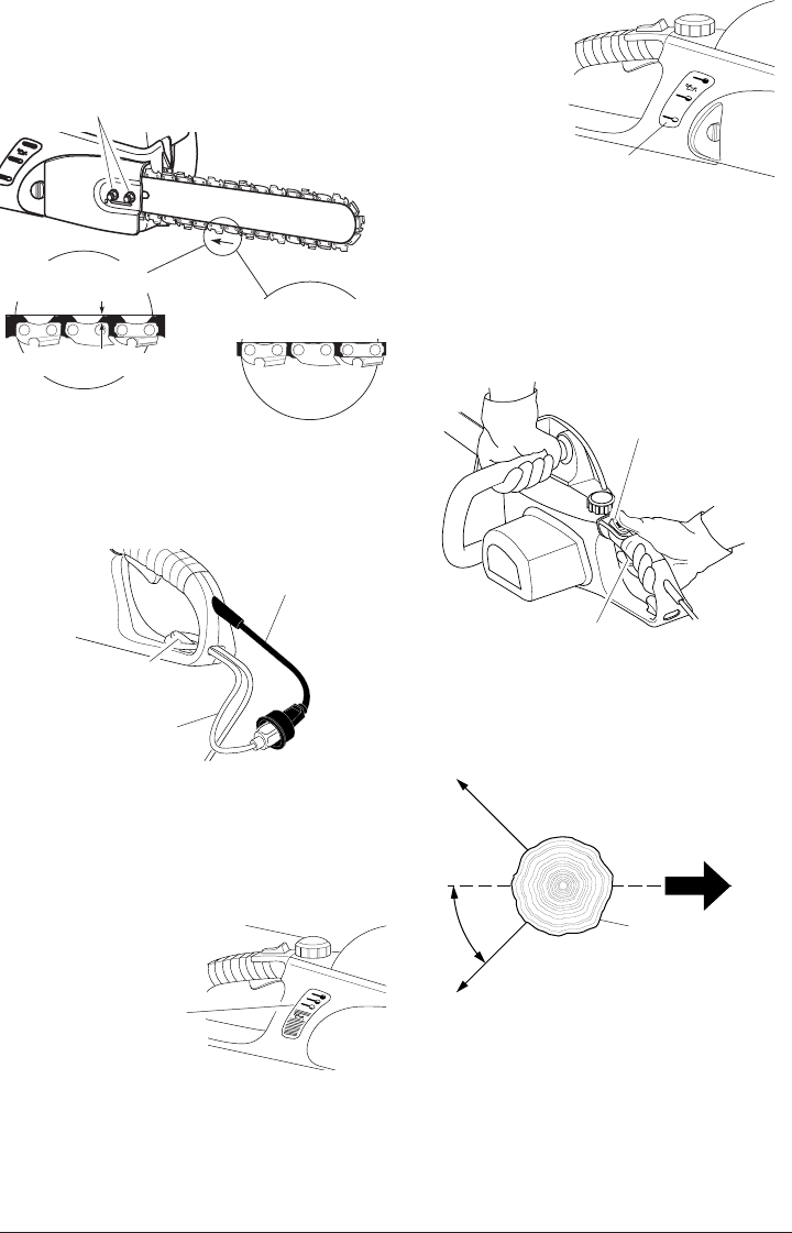 Page 12 of Remington Chainsaw EL-8: 107624-01, EL-8