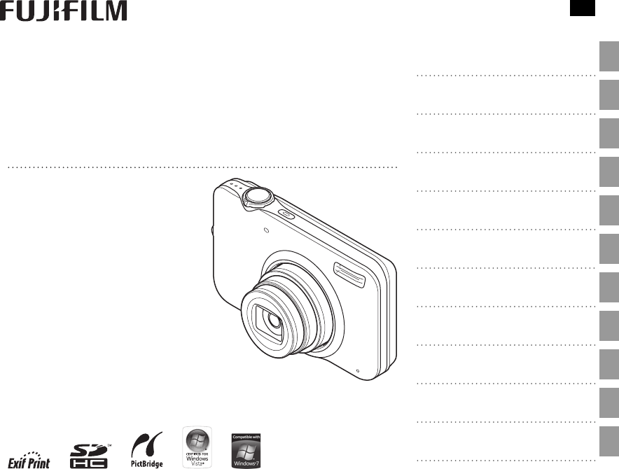 FujiFilm Digital Camera JV100 Series User Guide