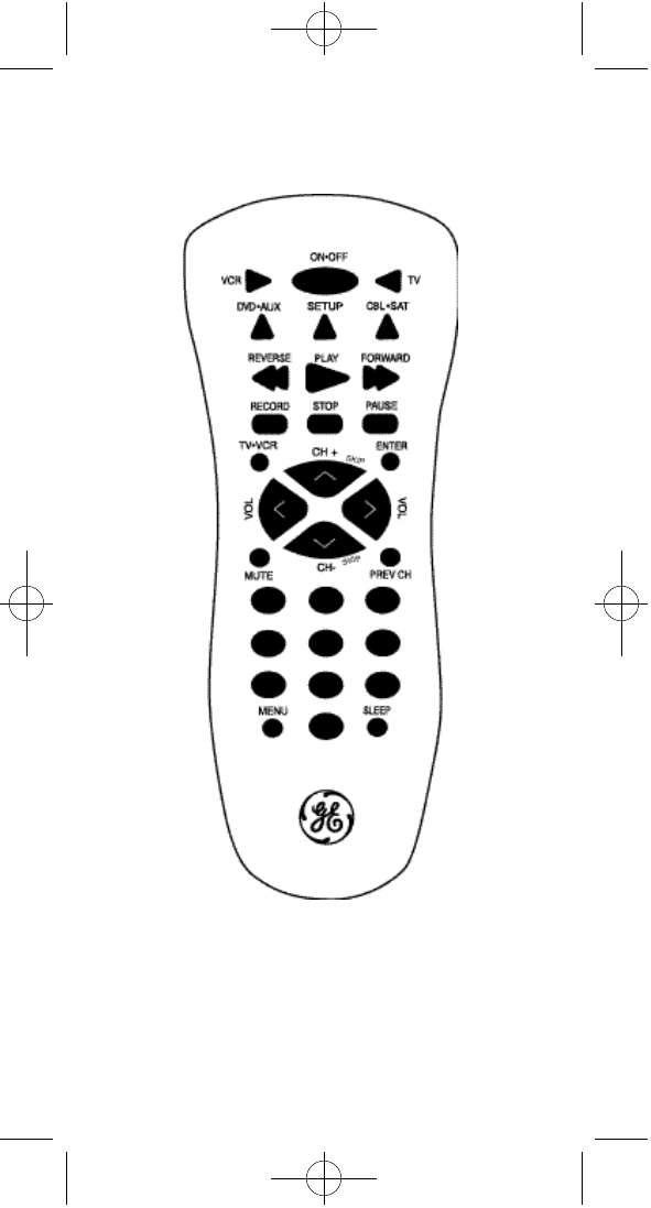 Page 20 of GE Universal Remote RM94906 User Guide