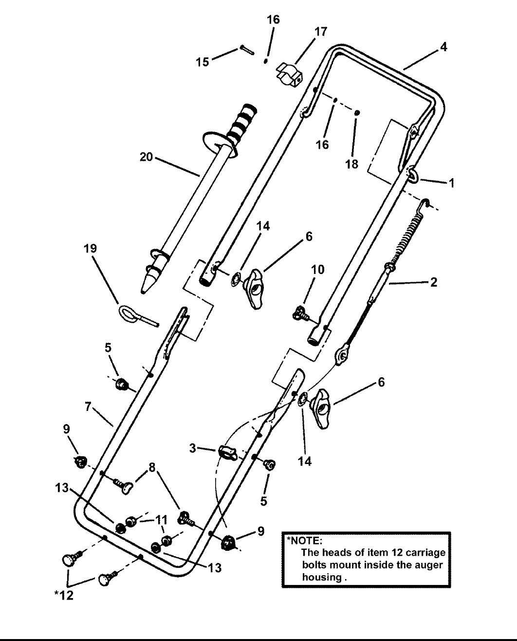Page 4 of Snapper Snow Blower LE3170R User Guide