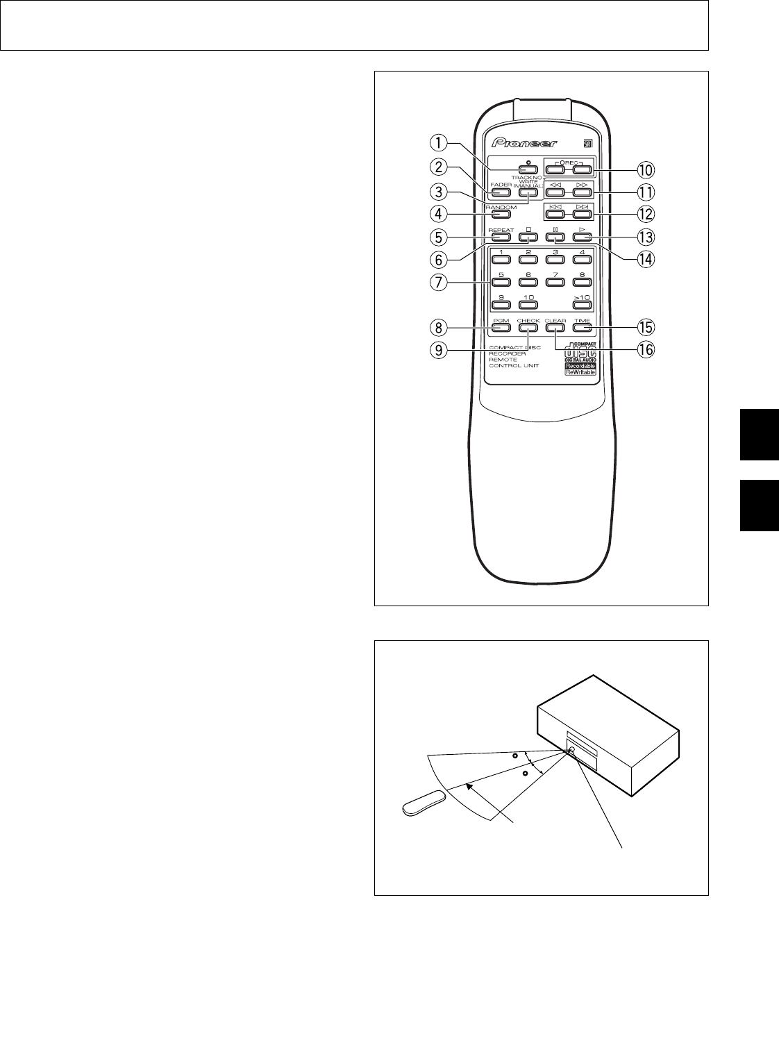 Page 33 of Pioneer CD Player PDR-555RW User Guide