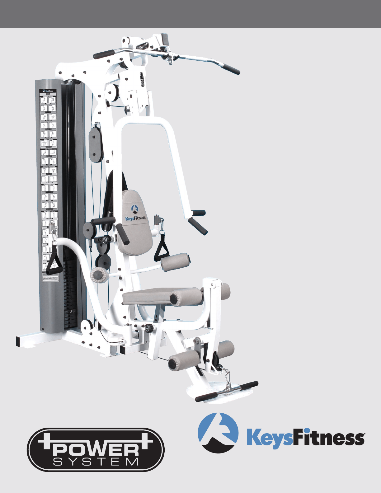 Keys Fitness Power System : fitness, power, system, Fitness, KPS-1850, Guide, ManualsOnline.com