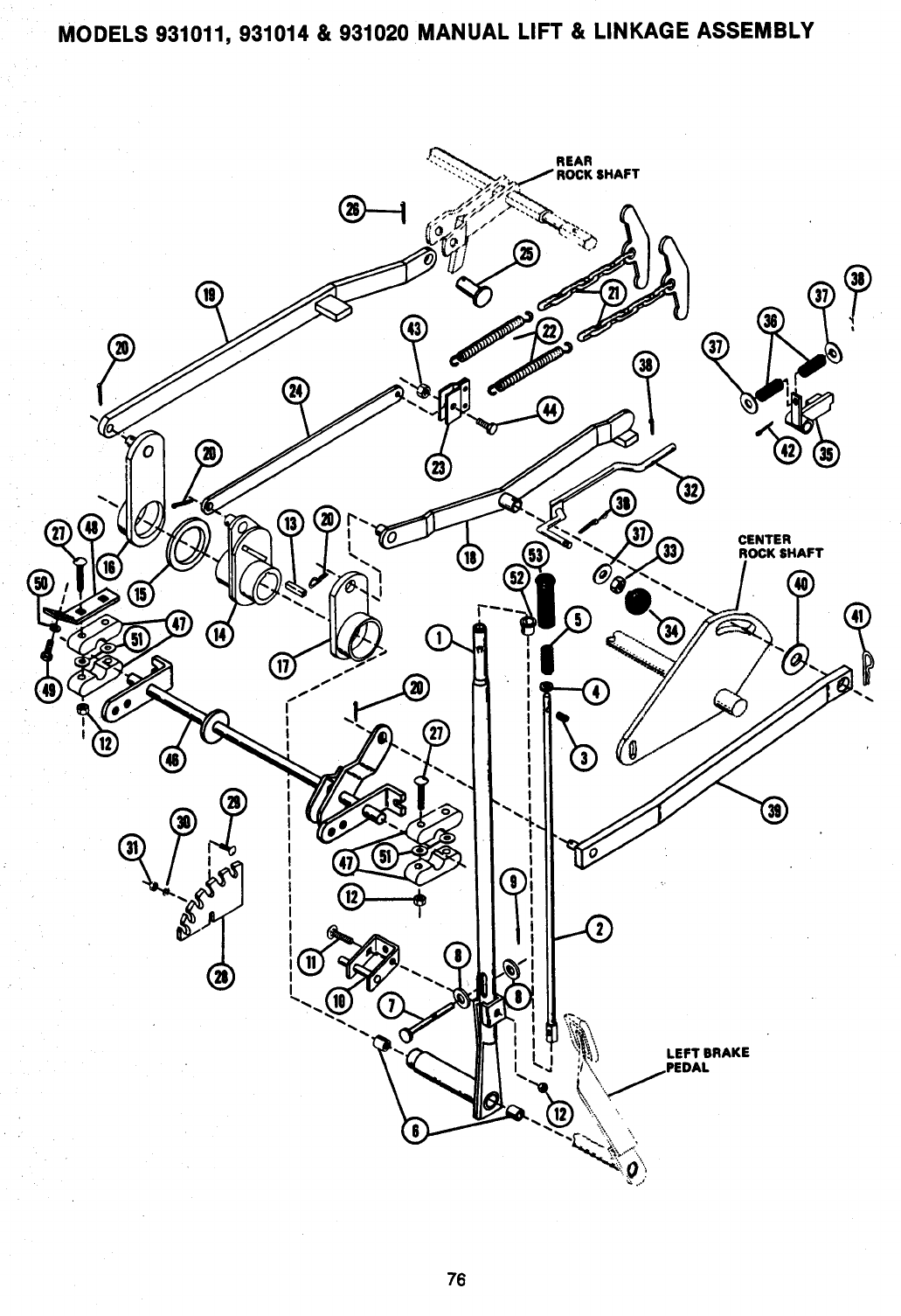 Page 77 of Ariens Lawn Mower 931 User Guide