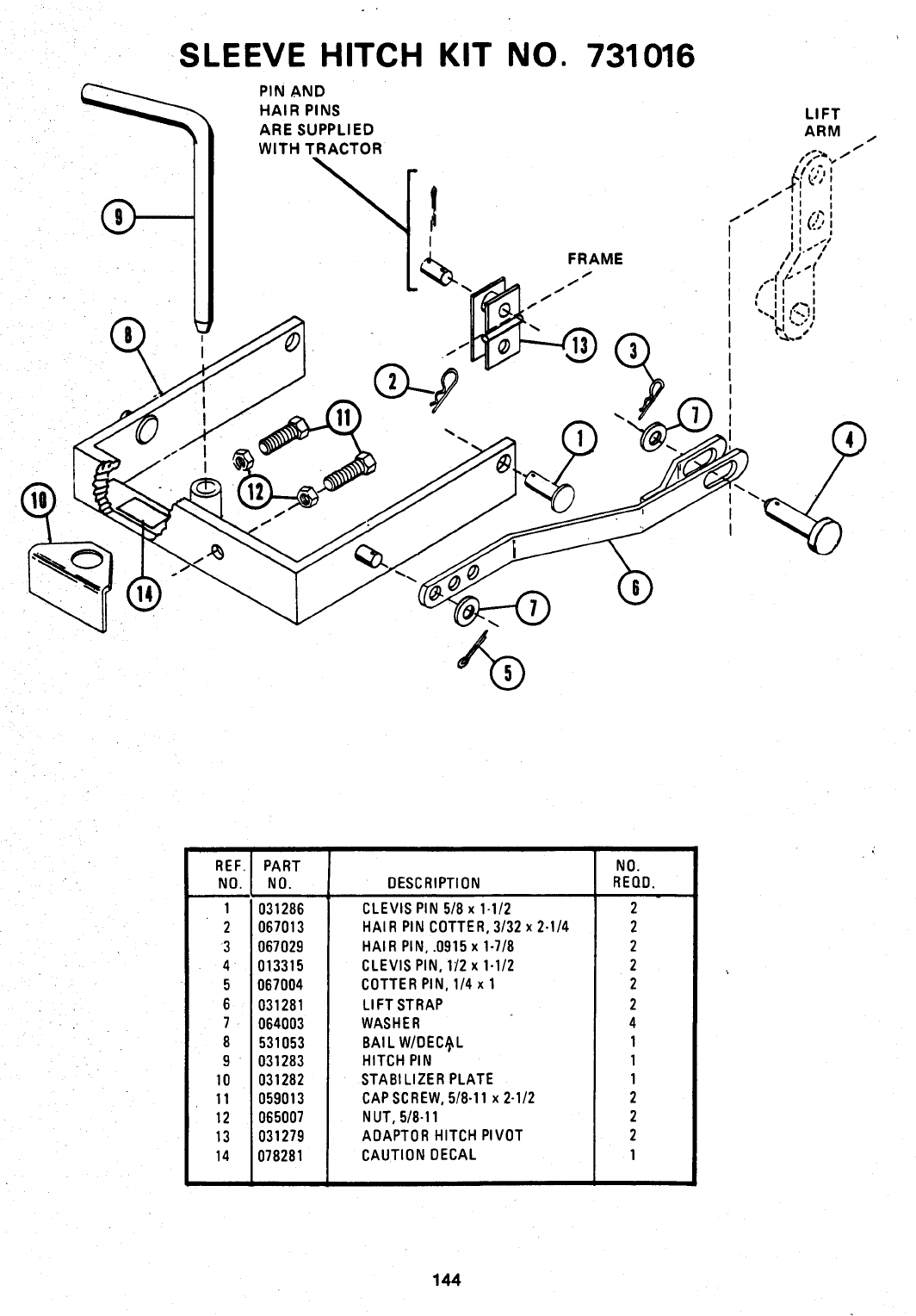 Page 145 of Ariens Lawn Mower 931 User Guide