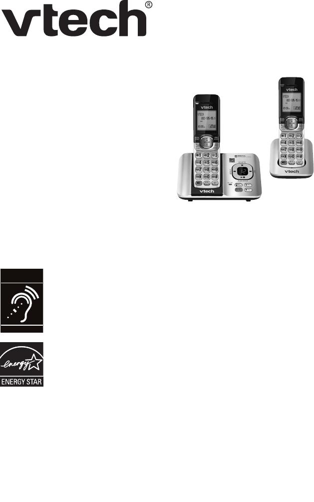 VTech Cordless Telephone CS6529-4B User Guide