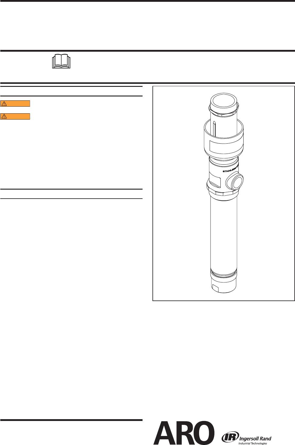 Ingersoll-Rand Heat Pump 1875CXXXXXX User Guide