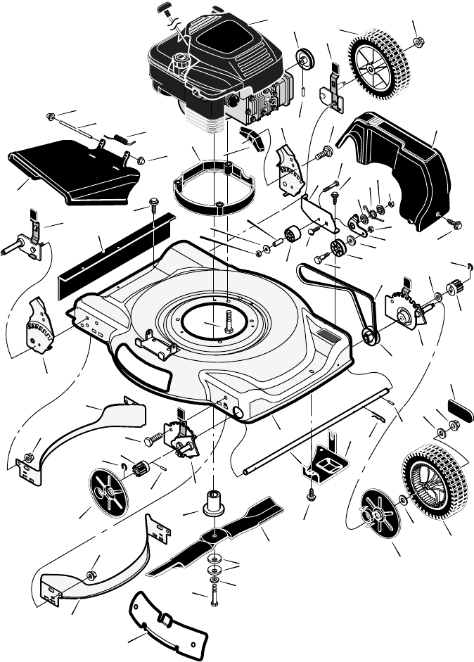 Page 24 of Murray Lawn Mower Models 22