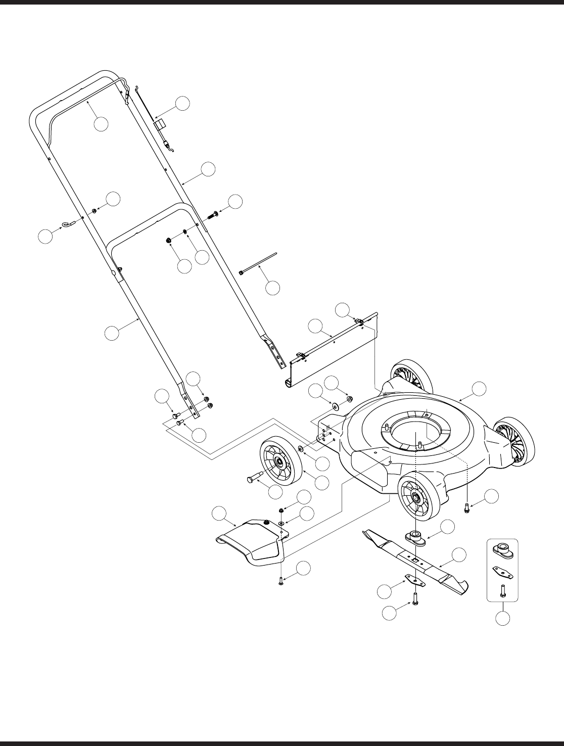 Page 16 of MTD Lawn Mower 020 Series User Guide