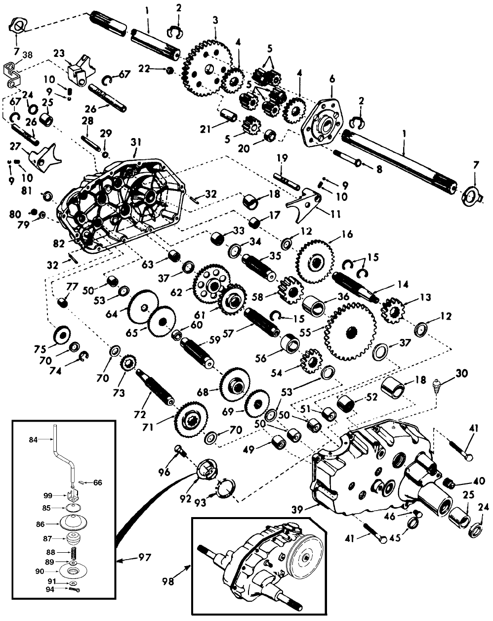 Page 46 of Husqvarna Lawn Mower GT2254 User Guide