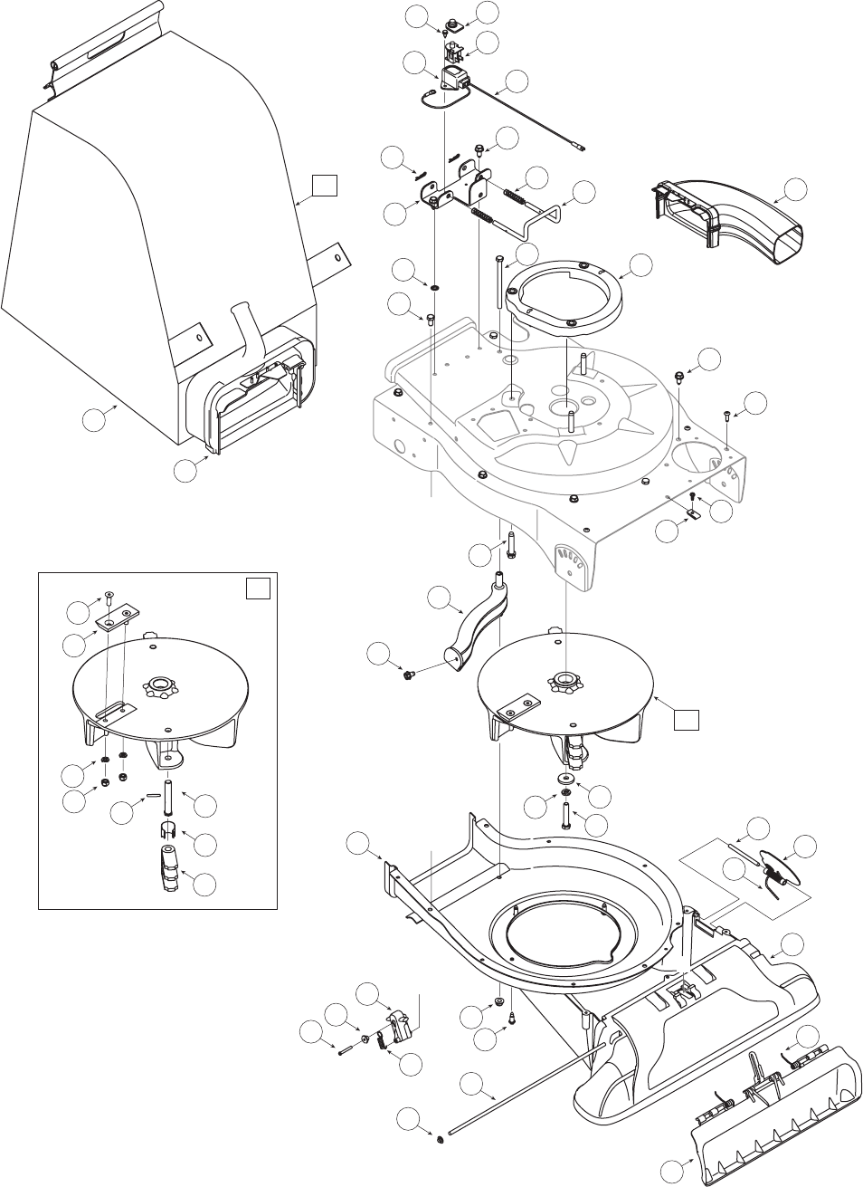 Page 24 of Craftsman Yard Vacuum 247.77099 User Guide