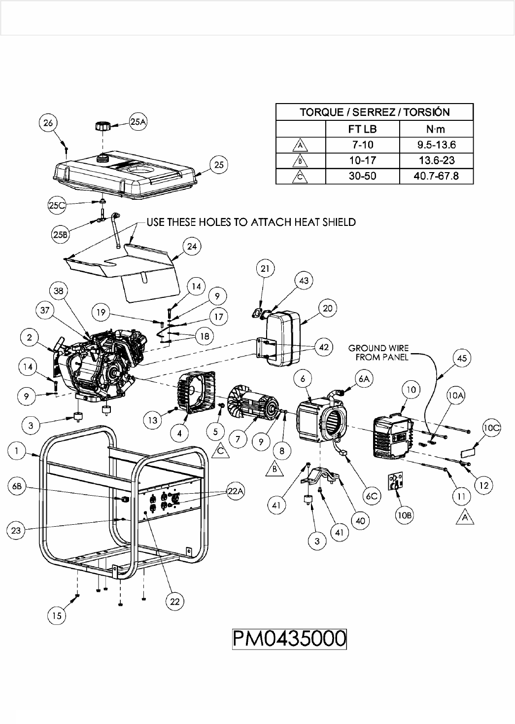 Page 8 of Powermate Portable Generator PM0435000 User