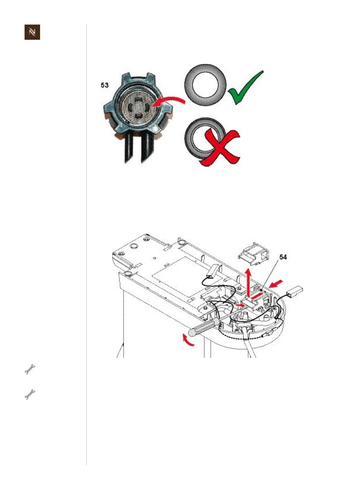 Page 60 of Nespresso Coffeemaker EF483/484 User Guide