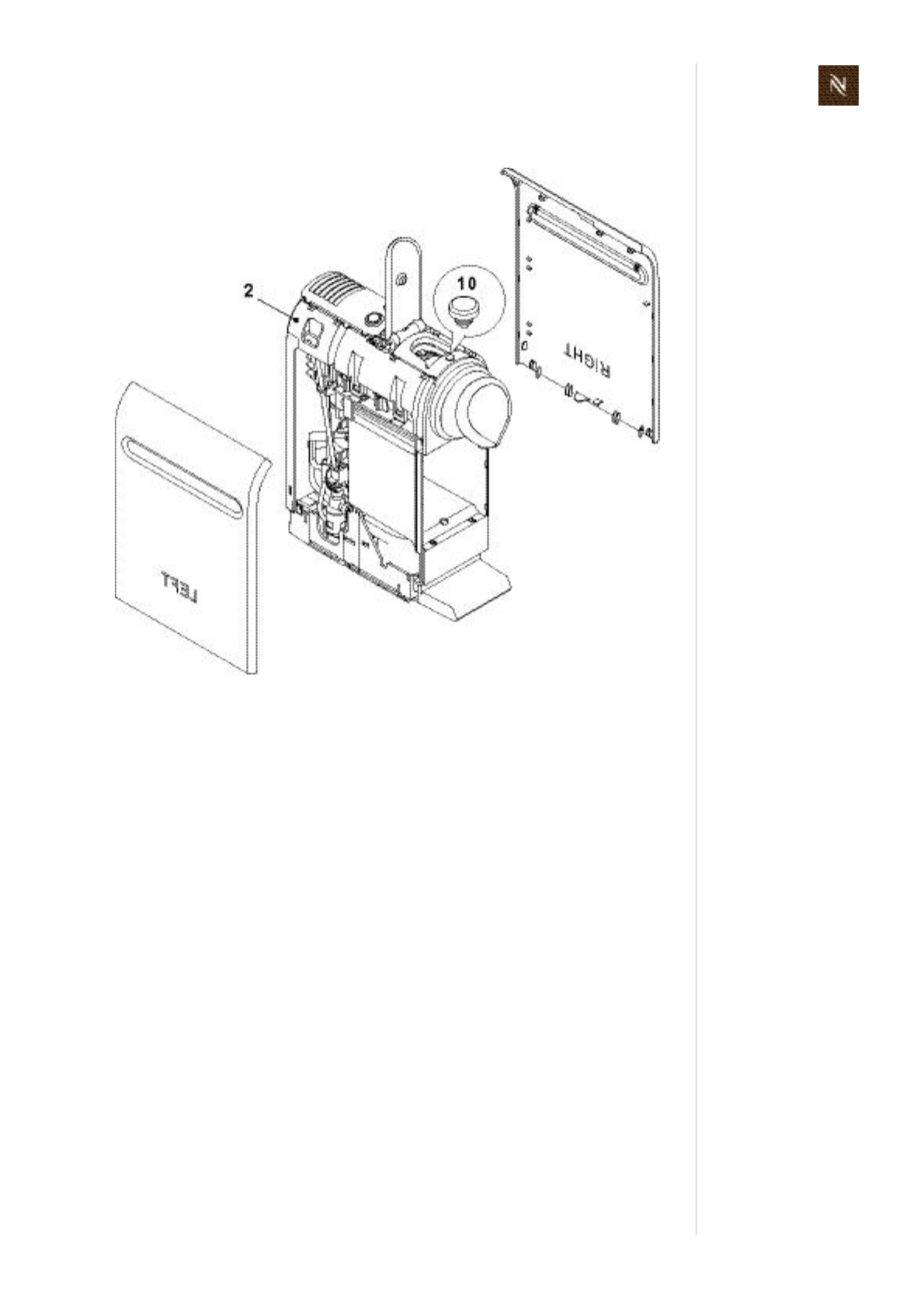 Page 95 of Nespresso Coffeemaker EF487/488 User Guide