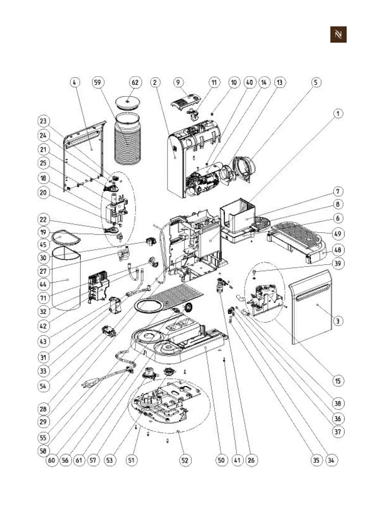 Page 151 of Nespresso Coffeemaker EF483/484 User Guide