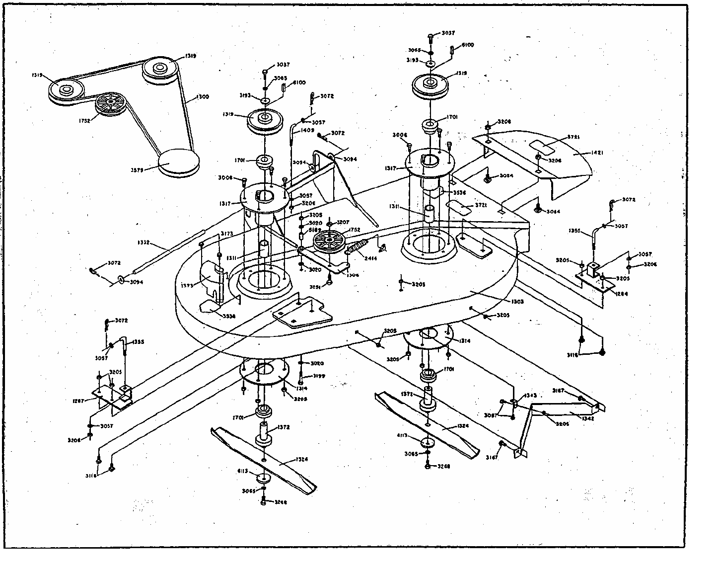 Page 3 of Dixon Lawn Mower ZTR 361 User Guide